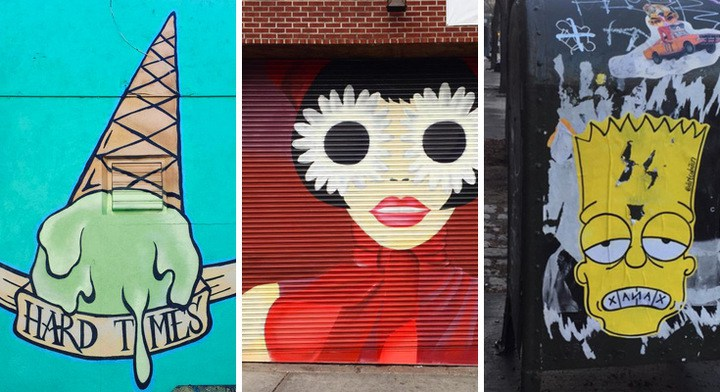 Where To Find Dirt Cobain's Insta-Famous Street Art In NYC