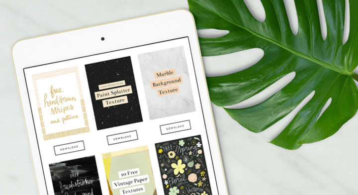 Free Downloads For Creatives: Curated Resources, Freelance Advice, Photos, Templates, And More