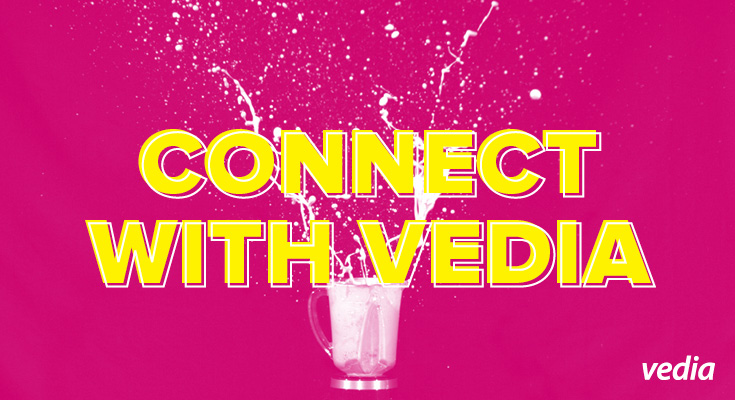 Connect with Vedia on Socials and Win Rides, Music, Movies, and More!